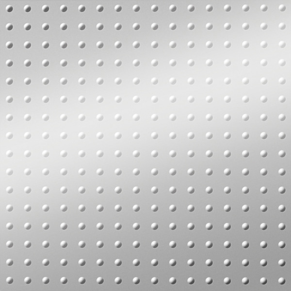 Dimensional Panels Dimension Walls Small Rivet Metallic Silver