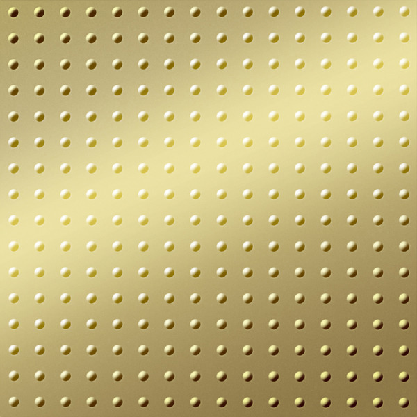 Dimensional Panels Dimension Walls Small Rivet Metallic Gold
