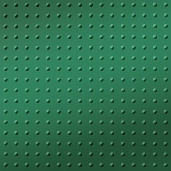 Dimensional Panels Dimension Walls Small Rivet Metallic Green