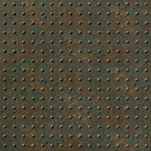 Dimensional Panels Dimension Walls Small Rivet Copper Patina
