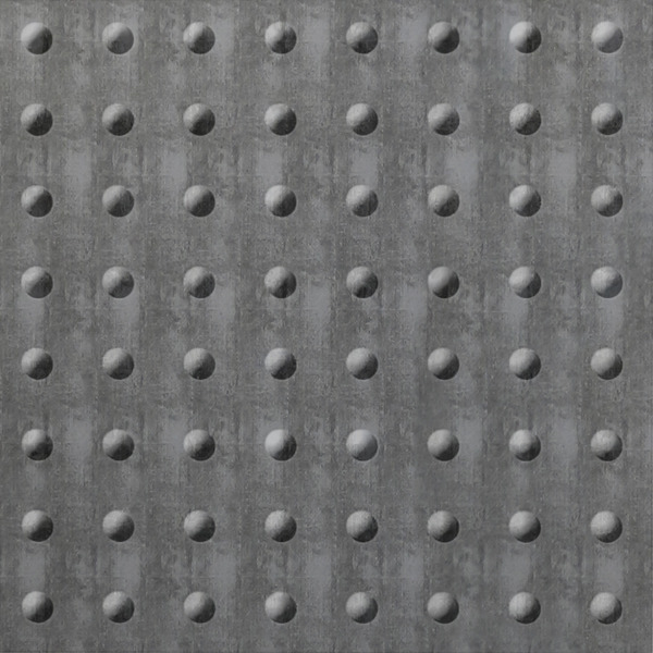 Vinyl Wall Covering Dimension Walls Rivet Etched Silver