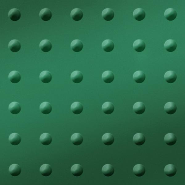 Vinyl Wall Covering Dimension Walls Large Rivet Metallic Green