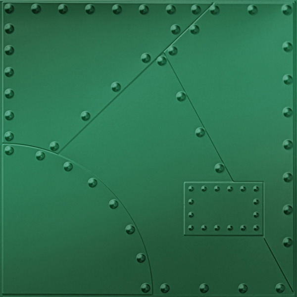 Vinyl Wall Covering Dimension Walls Alloy Metallic Green