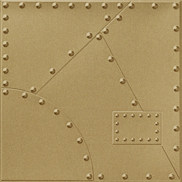 Vinyl Wall Covering Dimension Walls Alloy Gold