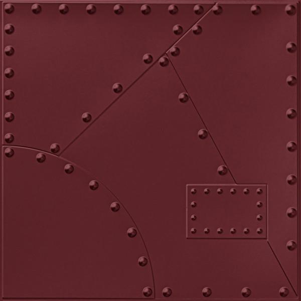 Vinyl Wall Covering Dimension Walls Alloy Marsala