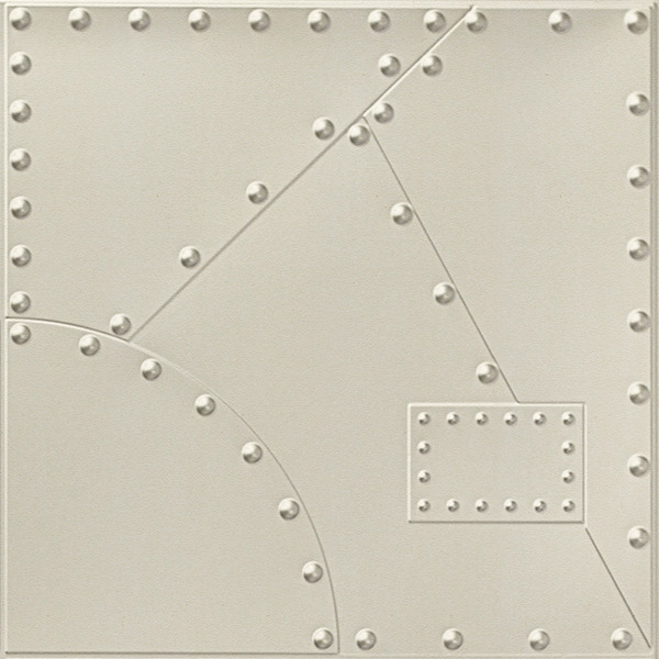 Vinyl Wall Covering Dimension Walls Alloy Off White