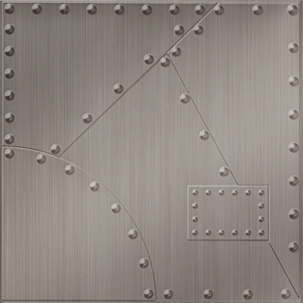 Dimensional Panels Dimension Walls Alloy Brushed Nickel