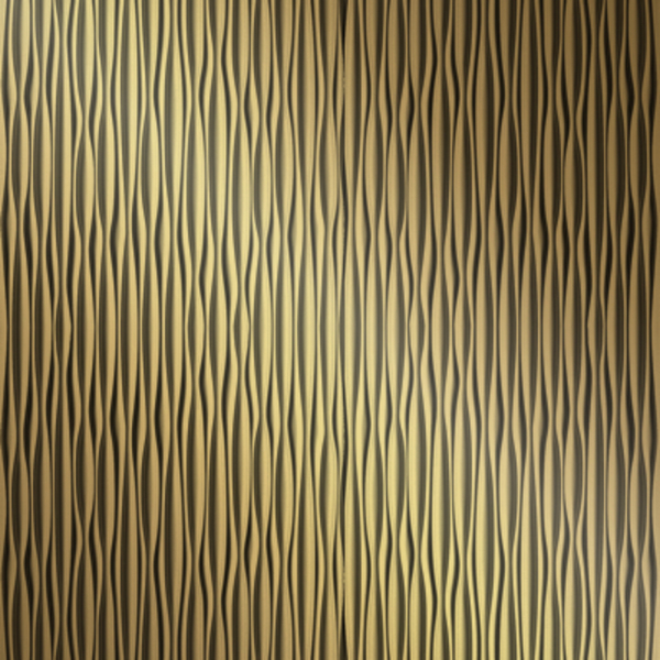Vinyl Wall Covering Dimension Walls Ganges Vertical Metallic Gold