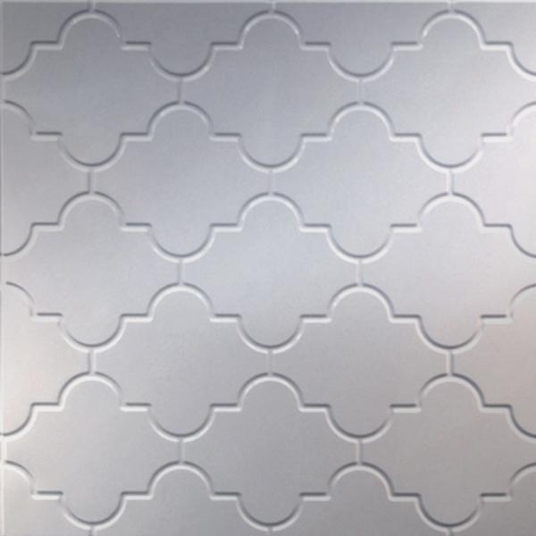 Vinyl Wall Covering Dimension Walls Mediterranean Metallic Silver