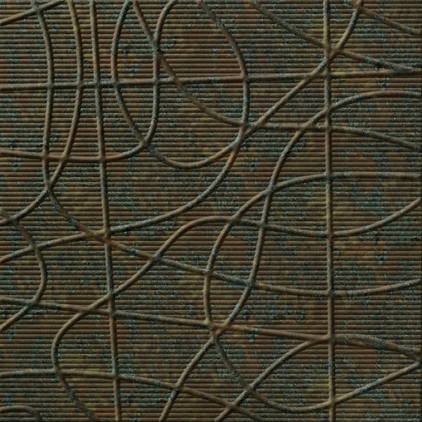 Dimensional Panels Dimension Walls Wired Copper Patina