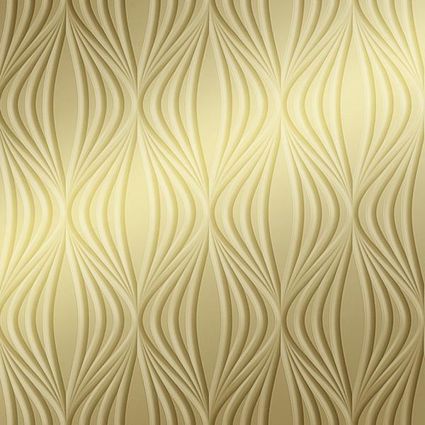 Vinyl Wall Covering Dimension Walls Kandra Metallic Gold
