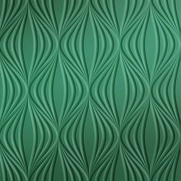 Vinyl Wall Covering Dimension Walls Kandra Metallic Green