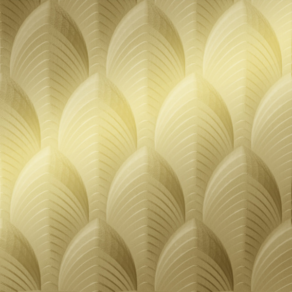 Vinyl Wall Covering Dimension Walls Dubai Metallic Gold