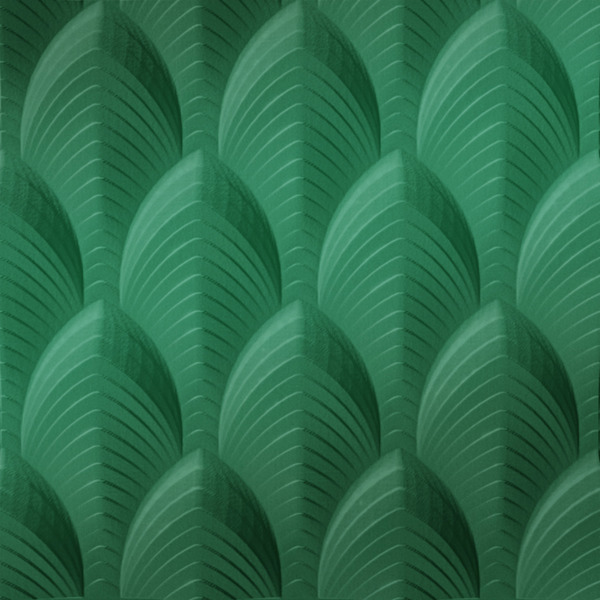 Dimensional Panels Dimension Walls Dubai Metallic Green