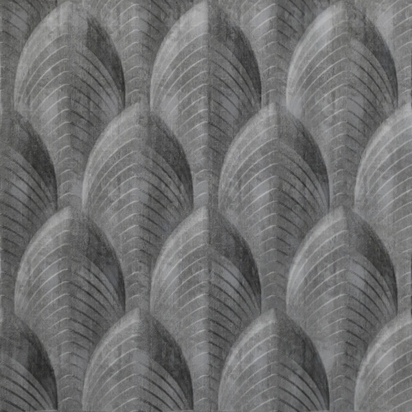 Vinyl Wall Covering Dimension Walls Dubai Etched Silver