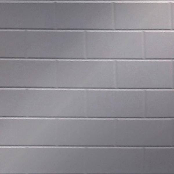 Vinyl Wall Covering Dimension Walls Brickyard Metallic Silver
