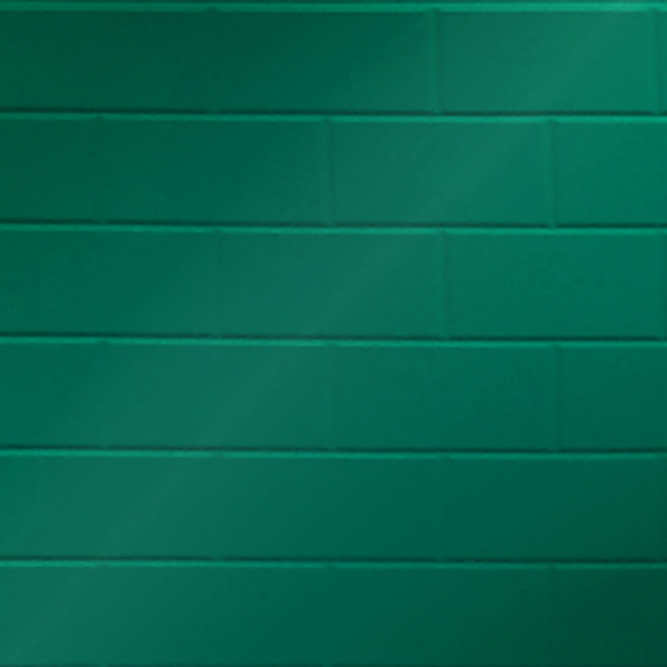 Vinyl Wall Covering Dimension Walls Brickyard Metallic Green