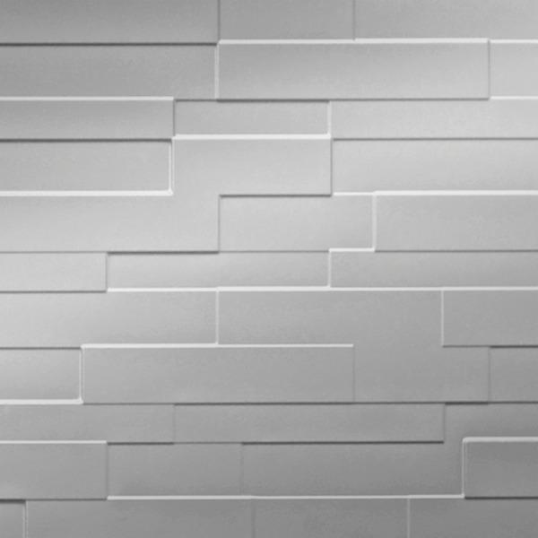 Dimensional Panels Dimension Walls Fireside Metallic Silver