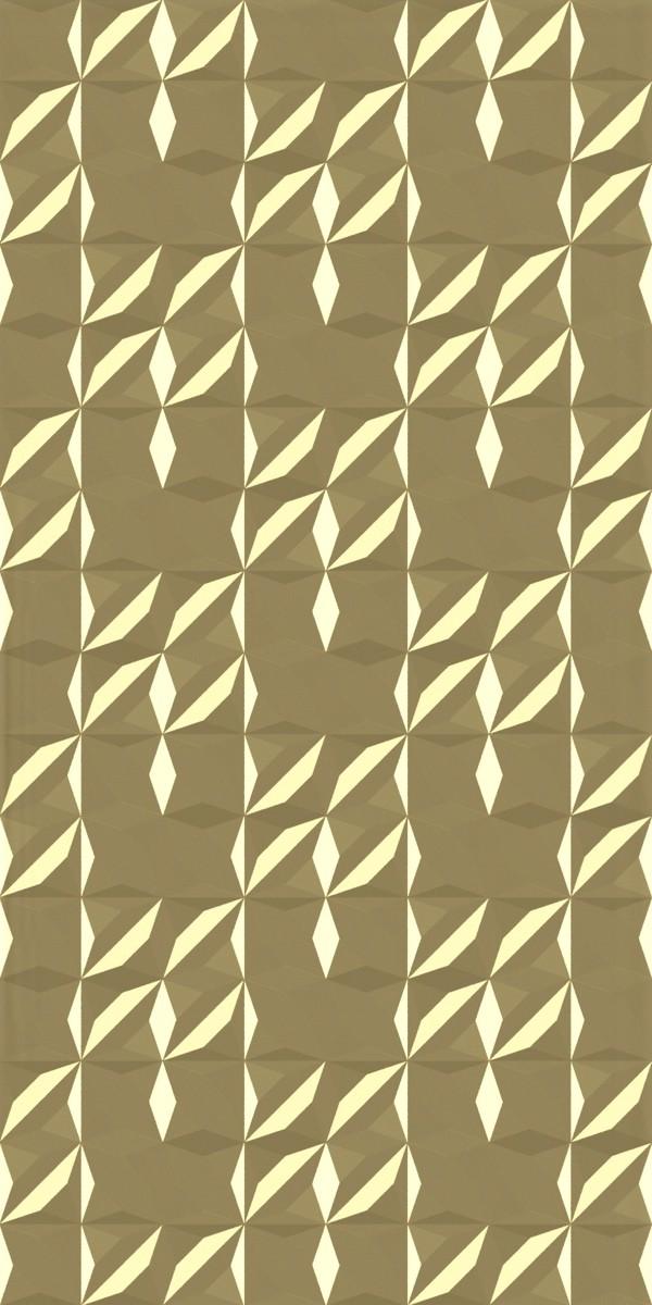 Vinyl Wall Covering Dimension Walls Flower Metallic Gold
