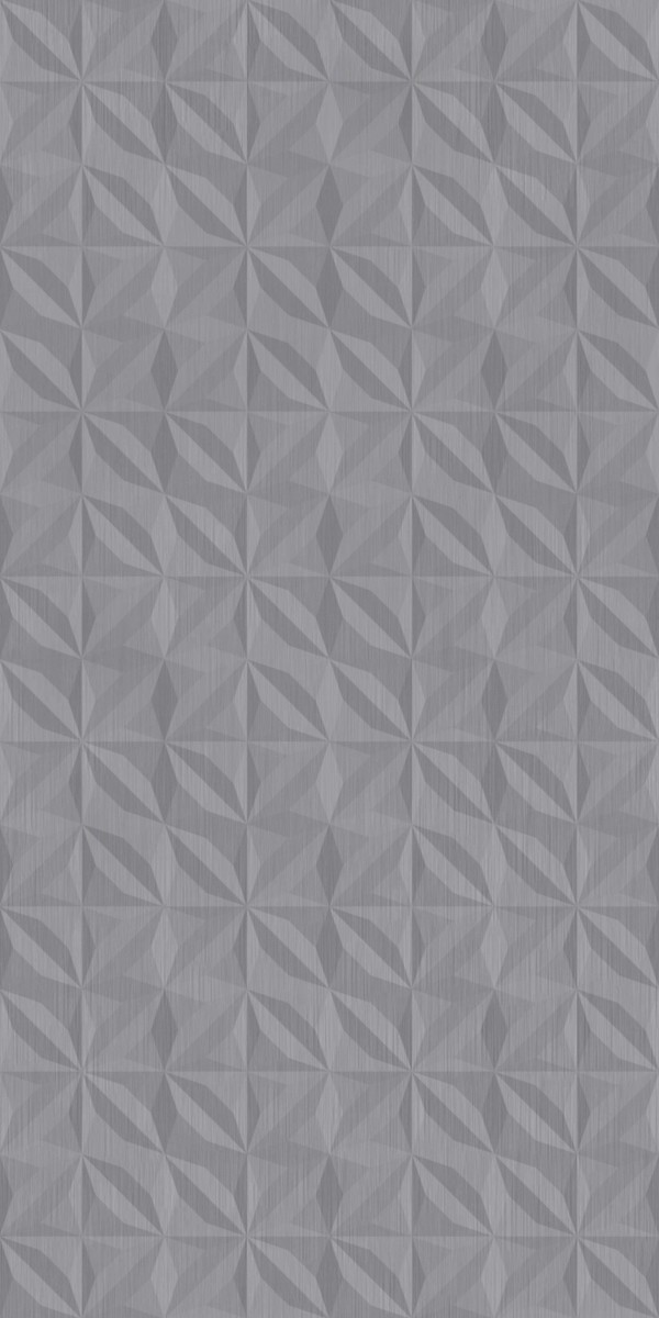 Vinyl Wall Covering Dimension Walls Flower Brushed Stainless