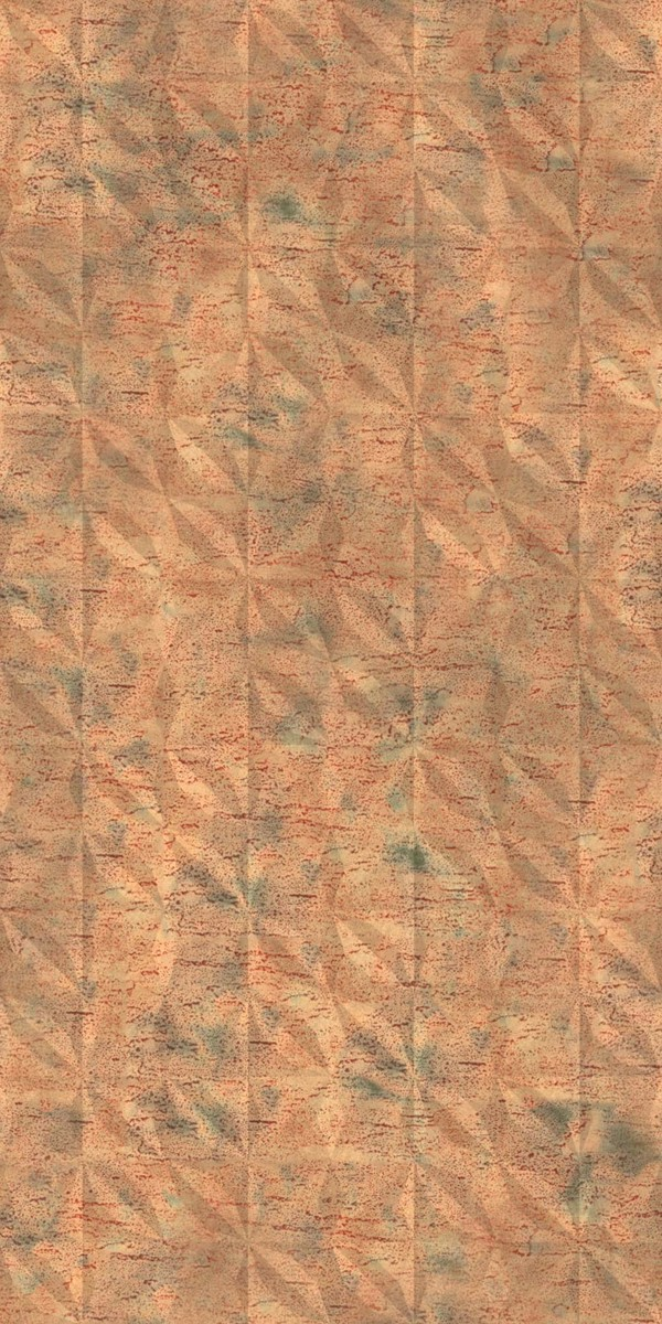 Vinyl Wall Covering Dimension Walls Flower Aged Copper