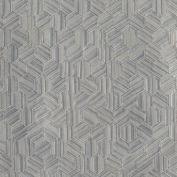 Vinyl Wall Covering Candice Olson Couture Metallica Nickel