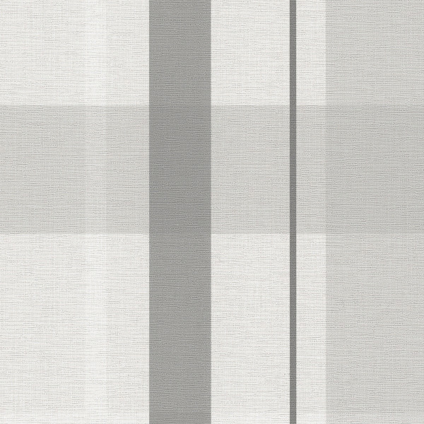 Vinyl Wall Covering Candice Olson Couture Artful Plaid Zinc