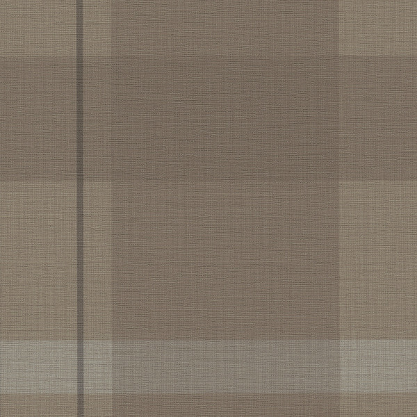 Vinyl Wall Covering Candice Olson Couture Artful Plaid Mink