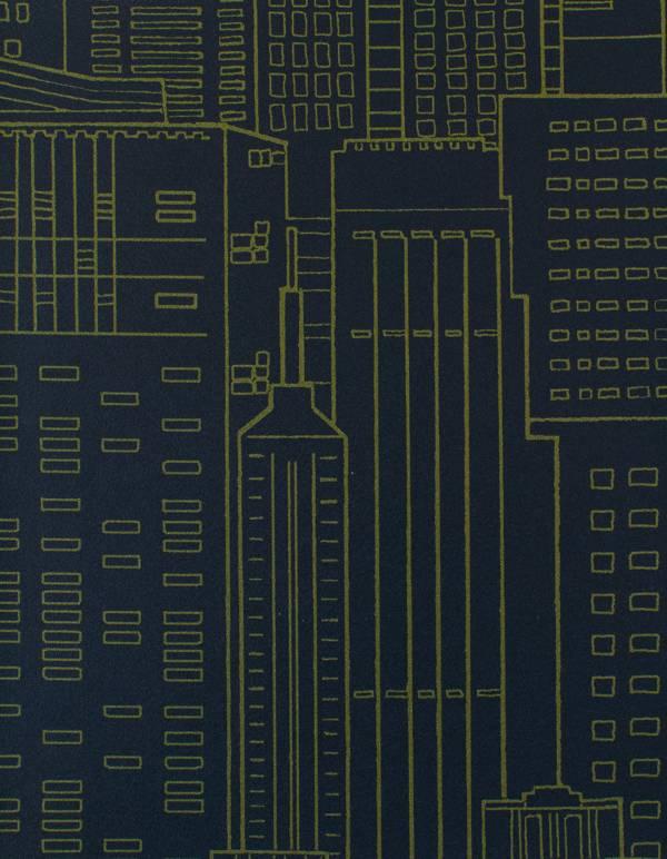 Vinyl Wall Covering Esquire Urbanscape Seagate