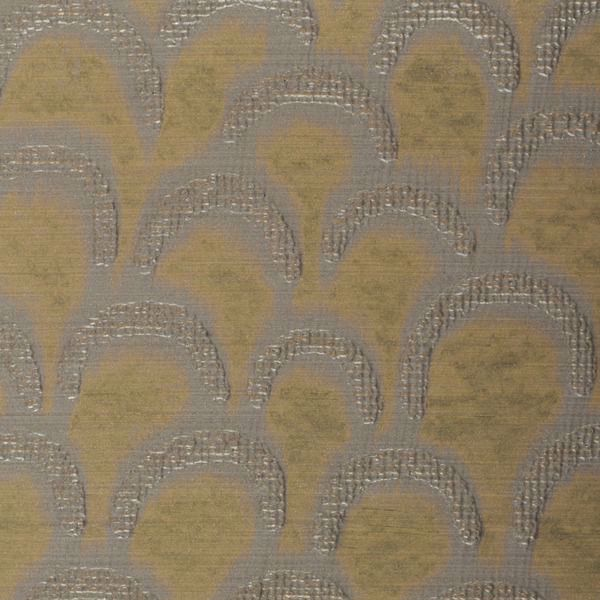 Specialty Wallcovering Handcrafted Marcel Brushed Gold
