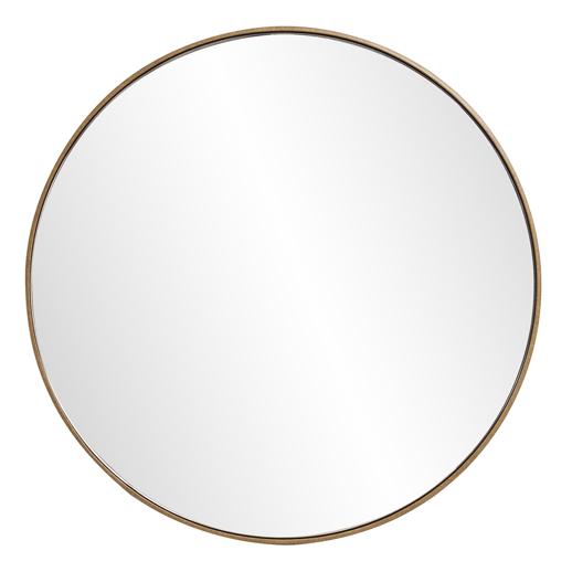 Industrial Industrial Jaxtyn Round Mirror