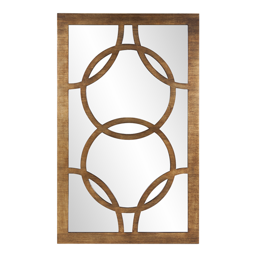 Industrial Industrial Felicity Rectangle Mirror