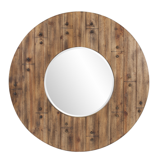 Coastal & Farmhouse Coastal & Farmhouse Stein Round Mirror
