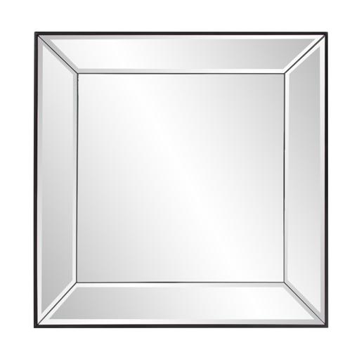 Contemporary Contemporary Vogue Square Mirror
