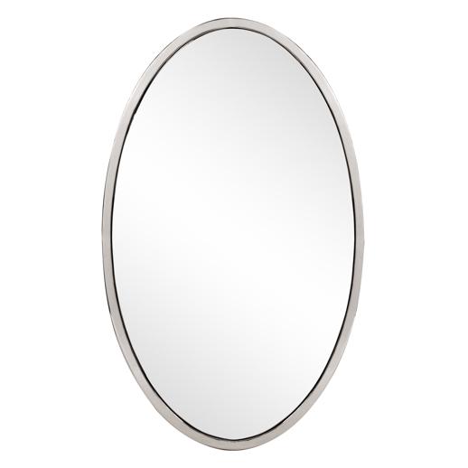 Contemporary Contemporary Simone Oval Mirror