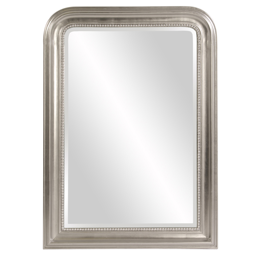 Contemporary Contemporary Sterling Arched Mirror