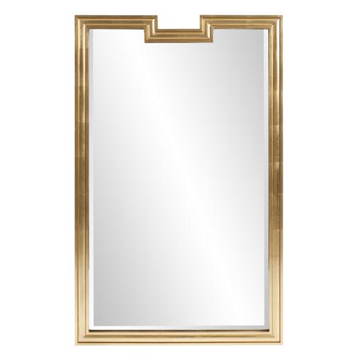 Contemporary Contemporary Danube Gold Mirror
