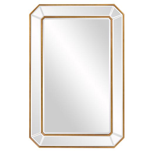 Contemporary Contemporary Leopold Mirror