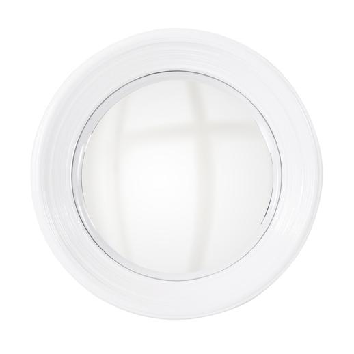 Contemporary Contemporary Rex White Mirror