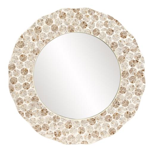 Contemporary Contemporary Antigua Mirror