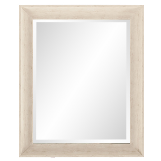 Traditional Traditional Parker Cream Rectangle Mirror