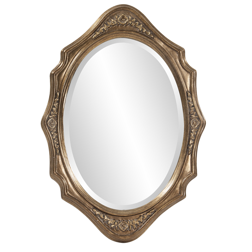 Traditional Traditional Trafalga Silver Mirror