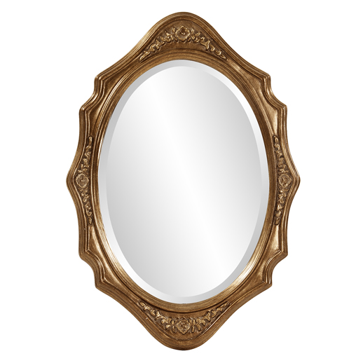 Traditional Traditional Trafalga Gold Mirror