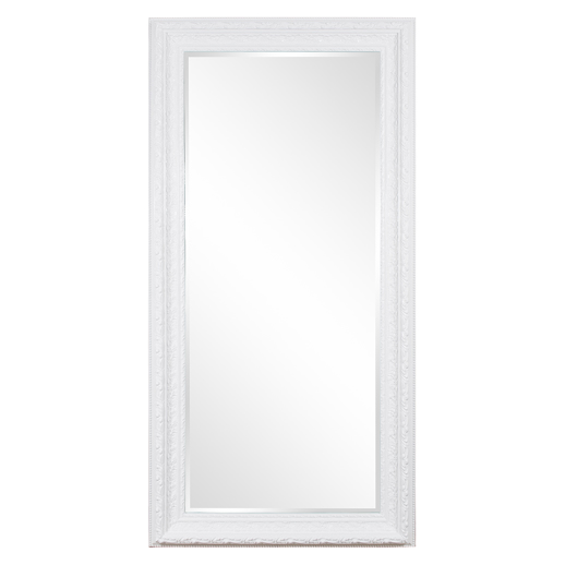 Traditional Traditional Countess White Mirror