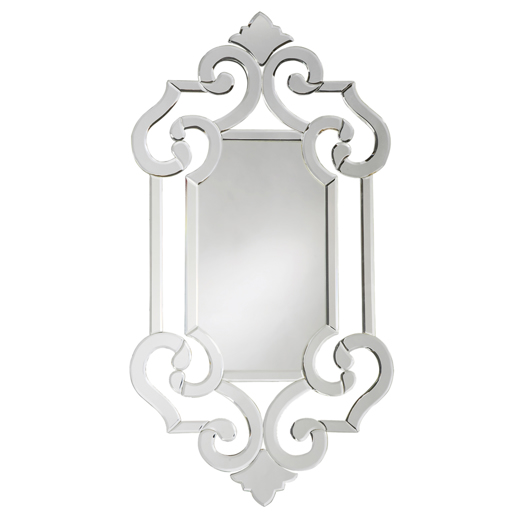 Traditional Traditional Clarice Mirror
