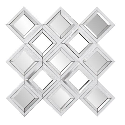Contemporary Contemporary Diamont Mirror