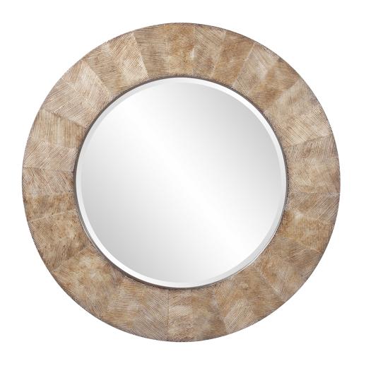Contemporary Contemporary Cheyton Round Mirror