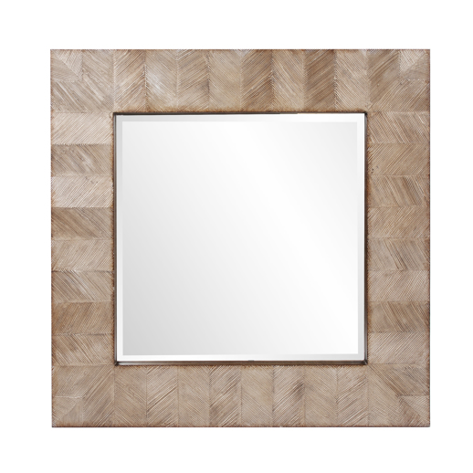Contemporary Contemporary Cheyton Square Mirror