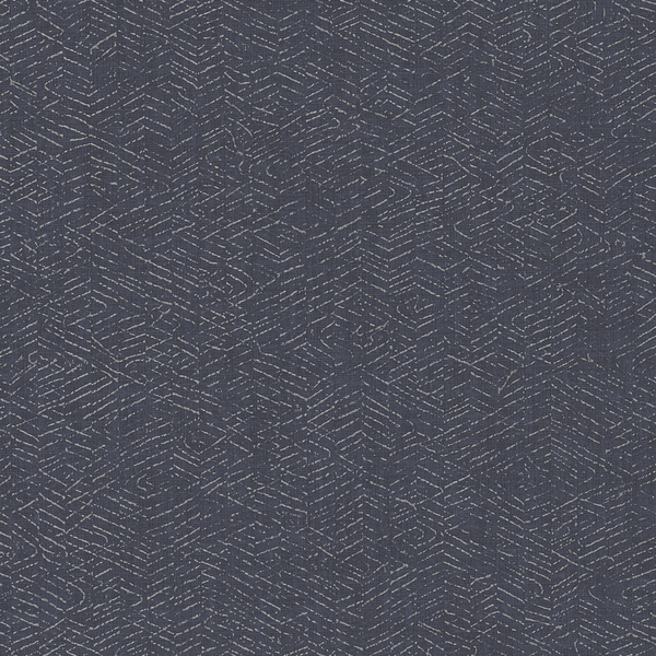 Vinyl Wall Covering Restoration Elements Wired Blue Cargo