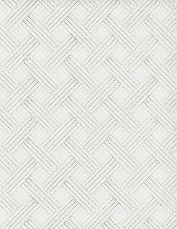 Vinyl Wall Covering Restoration Elements Assembly Optic White